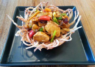 Chicken & Cashew Nuts (Gai Pad Met Ma-Maung)