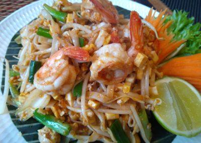 Pad Thai (Stir Fried Noodles with Prawns)
