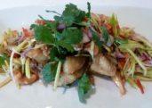 Crispy Fish & Mango Salad (Yum Ma-Muang Plaa Krob)