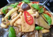 Vegetarian Pad Ka-Praow