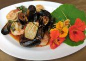 Pad Ka-Praow Seafood