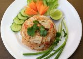 Tom Yum Fried Rice  (Khao Pat Tom Yum)