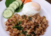 Stir Fried Chicken with Holy Basil (Pad Ka-Praow Kai)