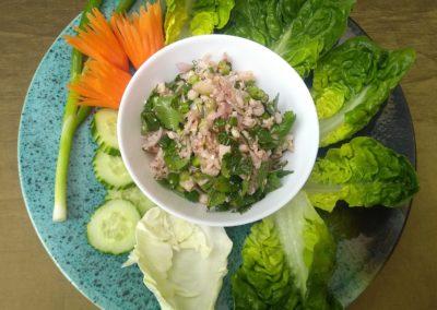 Spicy Chicken Salad (Laab Kai)